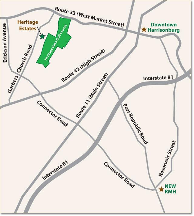 Heritage Estates Harrisonburg Virginia